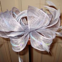 Beatrice Pale Blue Fascinator (SN304)